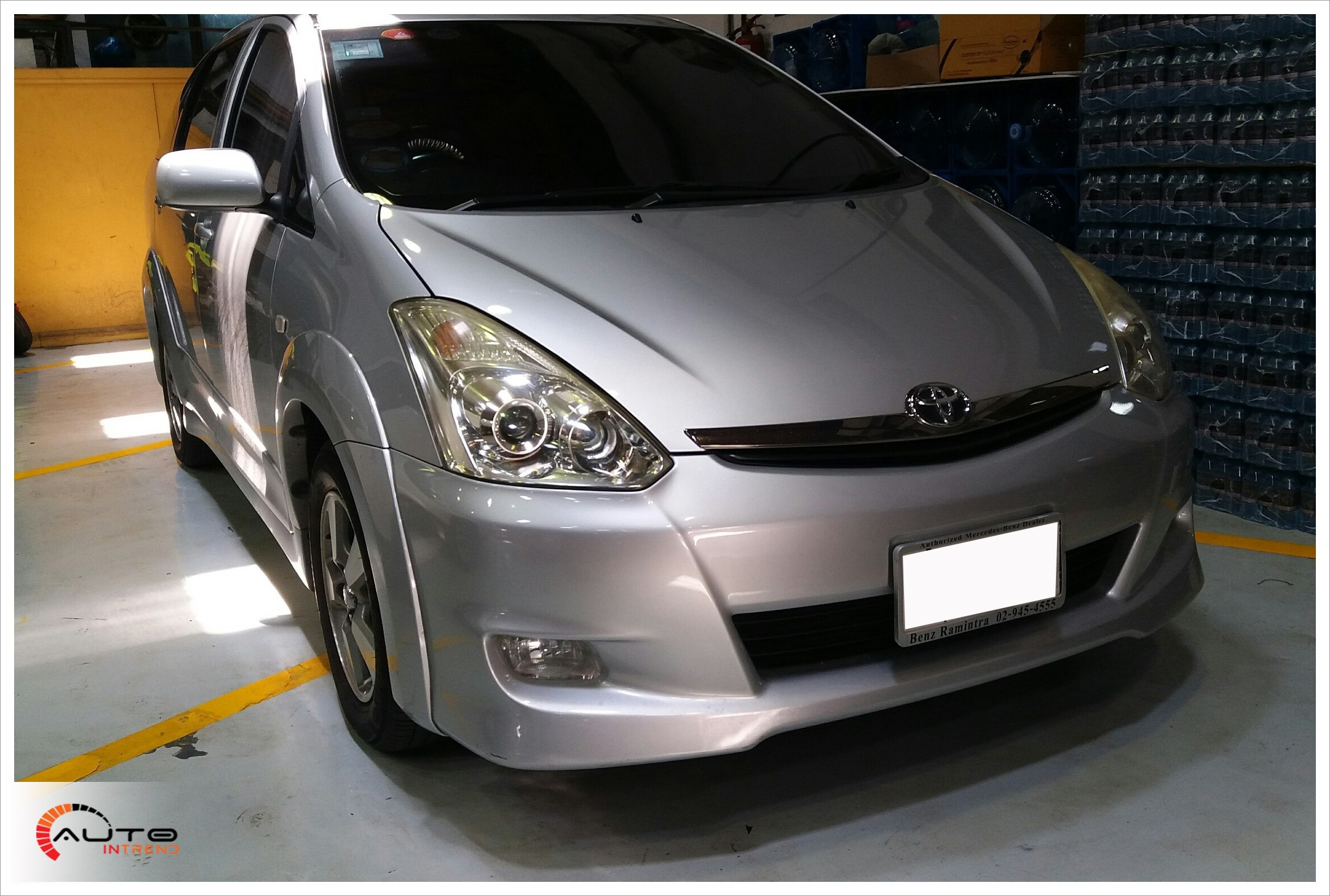 DVR Thinkware x330  Toyota Wish